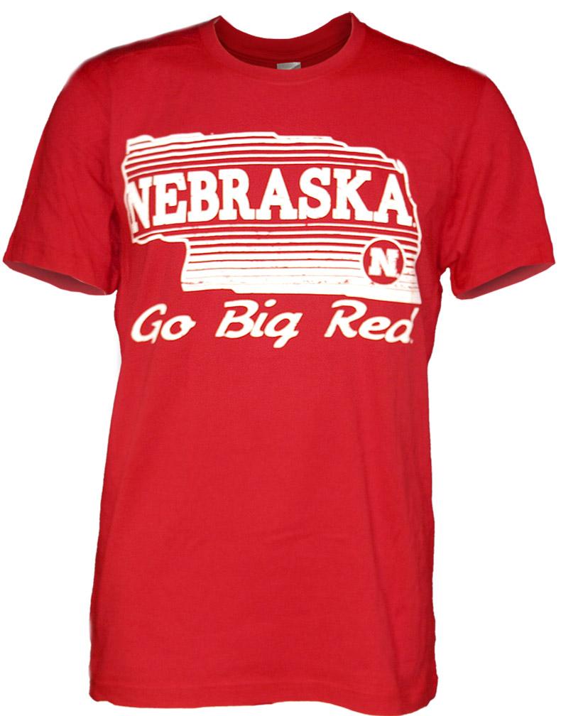 Nebraska red state tee
