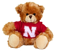 Nebraska Teddy Bear Nebraska Cornhuskers, Nebraska  Toys & Games, Huskers  Toys & Games, Nebraska Fun Stuff Novelty, Huskers Fun Stuff Novelty, Nebraska Nebraska Teddy Bear, Huskers Nebraska Teddy Bear
