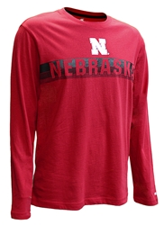 Nebraska Thoon Stripe LS Nebraska Cornhuskers, Nebraska  Mens T-Shirts, Huskers  Mens T-Shirts, Nebraska  Long Sleeve, Huskers  Long Sleeve, Nebraska  Mens, Huskers  Mens, Nebraska Nebraska Thoon Stripe LS, Huskers Nebraska Thoon Stripe LS