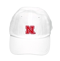 Nebraska Toddler Ball Cap - White Nebraska Cornhuskers, Nebraska  Childrens, Huskers  Childrens, Nebraska  Kids Hats, Huskers  Kids Hats, Nebraska Nebraska Toddle Ball Cap - White, Huskers Nebraska Toddle Ball Cap - White