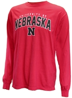 Nebraska University Long Sleeve Tee Nebraska Cornhuskers, Nebraska  Ladies Tops, Huskers  Ladies Tops, Nebraska  Ladies T-Shirts, Huskers  Ladies T-Shirts, Nebraska  Ladies, Huskers  Ladies, Nebraska  Mens, Huskers  Mens, Nebraska  Short Sleeve, Huskers  Short Sleeve, Nebraska  Mens T-Shirts , Huskers  Mens T-Shirts , Nebraska Nebraska University LS Tee, Huskers Nebraska University LS Tee