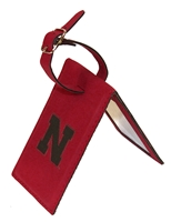 Nebraska Velour Luggage Tag ID Nebraska Cornhuskers, Nebraska  Bags Purses & Wallets, Huskers  Bags Purses & Wallets, Nebraska  Mens Accessories, Huskers  Mens Accessories, Nebraska  Ladies Accessories, Huskers  Ladies Accessories, Nebraska Nebraska Velour Luggage Tag ID, Huskers Nebraska Velour Luggage Tag ID