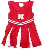 Nebraska Victory Cheer Dress Nebraska Cornhuskers, Nebraska  Infant, Huskers  Infant, Nebraska  Childrens, Huskers  Childrens, Nebraska Red Cheer Dress TFA, Huskers Red Cheer Dress TFA