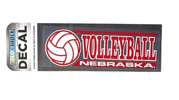 Nebraska Volleyball Decal Nebraska Cornhuskers, Nebraska Vehicle, Huskers Vehicle, Nebraska Stickers Decals & Magnets, Huskers Stickers Decals & Magnets, Nebraska Nebraska Volleyball Decal, Huskers Nebraska Volleyball Decal