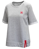 Nebraska Womens French Terry Top Nebraska Cornhuskers, Nebraska  Tops, Huskers  Tops, Nebraska Nebraska Womens French Terry Top, Huskers Nebraska Womens French Terry Top