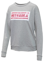 Nebraska Womens Reverse Sequin Sweatshirt Nebraska Cornhuskers, Nebraska  Ladies Sweatshirts, Huskers  Ladies Sweatshirts, Nebraska  Ladies, Huskers  Ladies, Nebraska Nebraska Womens Inverse Sequin Sweatshirt, Huskers Nebraska Womens Inverse Sequin Sweatshirt