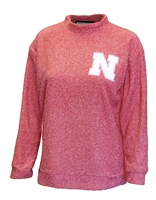 Nebraska Womens Wooly Terry Crew Nebraska Cornhuskers, Nebraska  Ladies Sweatshirts, Huskers  Ladies Sweatshirts, Nebraska  Ladies, Huskers  Ladies, Nebraska Nebraska Womens Wooly Terry Crew, Huskers Nebraska Womens Wooly Terry Crew