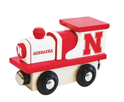 Nebraska Wooden Toy Train Engine Nebraska Cornhuskers, Nebraska  Childrens, Huskers  Childrens, Nebraska  Toys & Games, Huskers  Toys & Games, Nebraska Nebraska Wooden Toy Train Engine, Huskers Nebraska Wooden Toy Train Engine