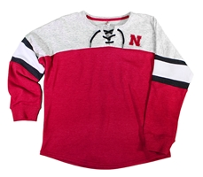 Nebraska Youth Girls Oversized Laceup Sweatshirt Nebraska Cornhuskers, Nebraska  Youth, Huskers  Youth, Nebraska  Kids, Huskers  Kids, Nebraska Nebraska Youth Girls Oversized Laceup Sweatshirt, Huskers Nebraska Youth Girls Oversized Laceup Sweatshirt