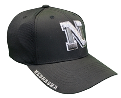 Nebraska Zfit Cap Nebraska Cornhuskers, Nebraska  Fitted Hats, Huskers  Fitted Hats, Nebraska  Mens Hats, Huskers  Mens Hats, Nebraska  Mens Hats, Huskers  Mens Hats, Nebraska Black Out!, Huskers Black Out!, Nebraska Nebraska Zfit Cap, Huskers Nebraska Zfit Cap
