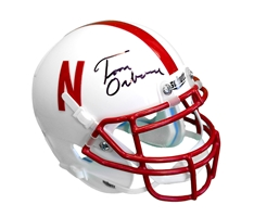 Osborne Autographed 1997 Schutt Mini Helmet Nebraska Cornhuskers, husker football, nebraska cornhuskers merchandise, husker merchandise, nebraska merchandise, husker memorabilia, husker autographed, nebraska cornhuskers autographed, Tom Osborne autographed, Tom Osborne signed, Tom Osborne collectible, Tom Osborne, nebraska cornhuskers memorabilia, nebraska cornhuskers collectible, Osborne Signed Unrivaled Mini Helmet