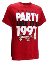 Party Like Its 1997 Smack Tee Nebraska Cornhuskers, Nebraska  Mens T-Shirts, Huskers  Mens T-Shirts, Nebraska  Mens, Huskers  Mens, Nebraska  Short Sleeve, Huskers  Short Sleeve, Nebraska Party Like Its 1997 Smack Tee, Huskers Party Like Its 1997 Smack Tee