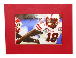 Quincy Enunwa Signed Matted Print Nebraska Cornhuskers, Nebraska One of a Kind, Huskers One of a Kind, Nebraska  Former Players, Huskers  Former Players, Nebraska  Photos Prints & Posters, Huskers  Photos Prints & Posters, Nebraska Stanley Jean Baptiste Signed Matted Print, Huskers Stanley Jean Baptiste Signed Matted Print