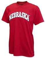 Red Bold Nebraska Arch Tee Nebraska Cornhuskers, husker football, nebraska cornhuskers merchandise, nebraska merchandise, husker merchandise, nebraska cornhuskers apparel, husker apparel, nebraska apparel, husker mens apparel, nebraska cornhuskers mens apparel, nebraska mens apparel, husker mens merchandise, nebraska cornhuskers mens merchandise, mens nebraska t shirt, mens husker t shirt, mens nebraska cornhusker t shirt,New Agenda Red Arch Nebraska T-shirt