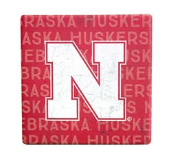Repeating Huskers Coaster Nebraska Cornhuskers, Nebraska  Kitchen & Glassware, Huskers  Kitchen & Glassware, Nebraska  Game Room & Big Red Room, Huskers  Game Room & Big Red Room, Nebraska Repeating Huskers Coaster, Huskers Repeating Huskers Coaster