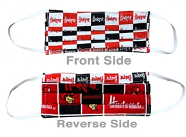 Reversible Huskers N Herbie Mask Nebraska Cornhuskers, Nebraska  Ladies, Huskers  Ladies, Nebraska  Mens, Huskers  Mens, Nebraska  Mens Accessories, Huskers  Mens Accessories, Nebraska  Ladies Accessories, Huskers  Ladies Accessories, Nebraska Reversible Huskers N Herbie Mask, Huskers Reversible Huskers N Herbie Mask
