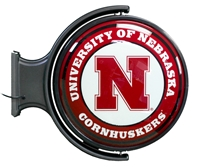 Rotating Illuminated University of Nebraska Sign Nebraska Cornhuskers, Nebraska  Game Room & Big Red Room, Huskers  Game Room & Big Red Room, Nebraska Wall Decor, Huskers Wall Decor, Nebraska Rotating Illuminated University of Nebraska Sign, Huskers Rotating Illuminated University of Nebraska Sign
