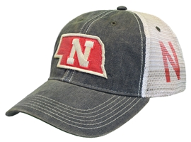 State Of Nebraska Mesh Back Hat Nebraska Cornhuskers, Nebraska  Mens Hats, Huskers  Mens Hats, Nebraska  Mens Hats, Huskers  Mens Hats, Nebraska State Of Nebraska Mesh Back Hat, Huskers State Of Nebraska Mesh Back Hat