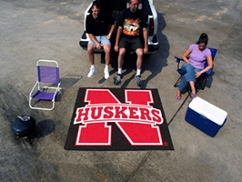 Huskers Tailgater Mat Nebraska Cornhuskers, Nebraska  Game Room & Big Red Room, Huskers  Game Room & Big Red Room, Nebraska  Office Den & Entry, Huskers  Office Den & Entry, Nebraska  Bedroom & Bathroom, Huskers  Bedroom & Bathroom, Nebraska  Tailgating , Huskers  Tailgating , Nebraska Tailgater, Huskers Tailgater