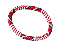 Team Spirit Beaded Roll On Bracelet Nebraska Cornhuskers, Nebraska  Jewelry & Hair, Huskers  Jewelry & Hair, Nebraska  Ladies, Huskers  Ladies, Nebraska  Ladies Accessories, Huskers  Ladies Accessories, Nebraska Team Spirit Beaded Roll On Bracelet, Huskers Team Spirit Beaded Roll On Bracelet
