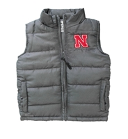 Toddler Boys Nebraska Taylor Puffy Vest Nebraska Cornhuskers, Nebraska  Toddler, Huskers  Toddler, Nebraska  Kids, Huskers  Kids, Nebraska Toddler Boys Nebraska Taylor Puffy Vest, Huskers Toddler Boys Nebraska Taylor Puffy Vest