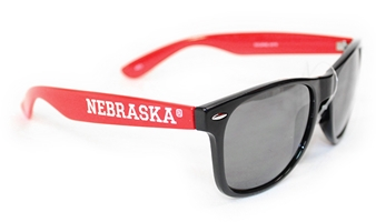 Two Tone Retro Nebraska Sunglasses Nebraska Cornhuskers, Nebraska  Mens, Huskers  Mens, Nebraska  Ladies, Huskers  Ladies, Nebraska  Ladies Accessories, Huskers  Ladies Accessories, Nebraska  Mens Accessories, Huskers  Mens Accessories, Nebraska Two Tone Retro Sunglasses AES, Huskers Two Tone Retro Sunglasses AES