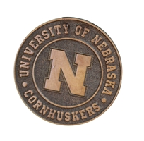 U of N Alder Magnet Nebraska Cornhuskers, Nebraska Stickers Decals & Magnets, Huskers Stickers Decals & Magnets, Nebraska Home & Office, Huskers Home & Office, Nebraska  Kitchen & Glassware, Huskers  Kitchen & Glassware, Nebraska U of N Alder Magnet, Huskers U of N Alder Magnet
