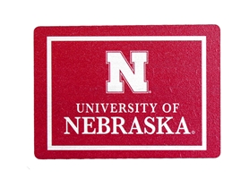 University of Nebraska Block Magnet Nebraska Cornhuskers, Nebraska Stickers Decals & Magnets, Huskers Stickers Decals & Magnets, Nebraska University of Nebraska Block Magnet , Huskers University of Nebraska Block Magnet