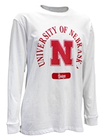 University of Nebraska Diego LS Tee Nebraska Cornhuskers, Nebraska  Mens, Huskers  Mens, Nebraska  Long Sleeve, Huskers  Long Sleeve, Nebraska  Mens T-Shirts, Huskers  Mens T-Shirts, Nebraska University of Nebraska Diego LS Tee, Huskers University of Nebraska Diego LS Tee