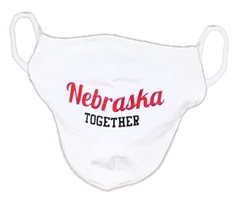 Kids Nebraska Together Mask Nebraska Cornhuskers, Nebraska  Youth, Huskers  Children, Huskers  Youth, Nebraska  Children, Nebraska  Ladies Accessories, Huskers  Ladies Accessories, Nebraska Kids Nebraska Huskers Together Mask, Huskers Kids Nebraska Huskers Together Mask