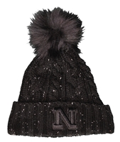 Womens Black Fuzzy Pom Cuffed Knit Hat Nebraska Cornhuskers, Nebraska  Ladies Hats, Huskers  Ladies Hats, Nebraska  Ladies Hats, Huskers  Ladies Hats, Nebraska Black Out!, Huskers Black Out!, Nebraska Womens Black Fuzzy Pom Cuffed Knit Hat, Huskers Womens Black Fuzzy Pom Cuffed Knit Hat