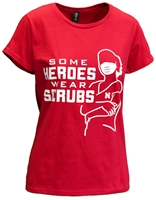 Womens Heroes N Scrubs Tee Nebraska Cornhuskers, Nebraska  Ladies, Huskers  Ladies, Nebraska  Short Sleeve, Huskers  Short Sleeve, Nebraska  Ladies T-Shirts, Huskers  Ladies T-Shirts, Nebraska Womens Heroes N Scrubs Tee, Huskers Womens Heroes N Scrubs Tee