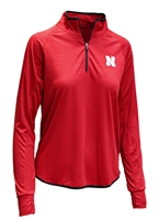 Womens Husker Soulmate Quarter Zip Pullover Nebraska Cornhuskers, Nebraska  Ladies, Huskers  Ladies, Nebraska  Ladies Outerwear, Huskers  Ladies Outerwear, Nebraska Womens Husker Soulmate Quarter Zip Pullover, Huskers Womens Husker Soulmate Quarter Zip Pullover