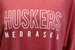 Ladies Huskers Outline LS Top - ZT-5H486
