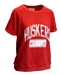 Womens Huskers Rolled Sleeve Sweat Top - AT-C5202