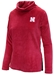 Womens Huskers Velour Cowl Neck - AS-D2044