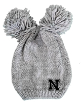 Womens Nebraska Leia Black N Double Pom Knit Nebraska Cornhuskers, Nebraska  Ladies Hats, Huskers  Ladies Hats, Nebraska  Ladies Hats, Huskers  Ladies Hats, Nebraska Womens Nebraska Leia Double Pom Knit, Huskers Womens Nebraska Leia Double Pom Knit