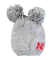 Womens Nebraska Leia Double Pom Knit Nebraska Cornhuskers, Nebraska  Ladies Hats, Huskers  Ladies Hats, Nebraska  Ladies Hats, Huskers  Ladies Hats, Nebraska Womens Nebraska Leia Double Pom Knit, Huskers Womens Nebraska Leia Double Pom Knit