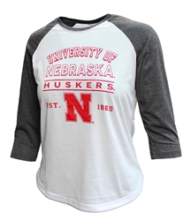 Womens Nebraska Mix Raglan Nebraska Cornhuskers, Nebraska  Ladies Tops, Huskers  Ladies Tops, Nebraska  Ladies, Huskers  Ladies, Nebraska  Long Sleeve, Huskers  Long Sleeve, Nebraska Womens Nebraska Mix Raglan, Huskers Womens Nebraska Mix Raglan