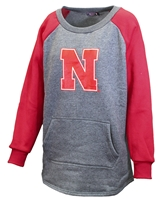 Womens Nebraska Pocket Crew Nebraska Cornhuskers, Nebraska  Ladies Sweatshirts, Huskers  Ladies Sweatshirts, Nebraska  Ladies, Huskers  Ladies, Nebraska  Crew, Huskers  Crew, Nebraska Womens Nebraska Pocket Crew, Huskers Womens Nebraska Pocket Crew