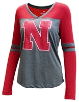 Womens Nebraska Surely LS Tee Nebraska Cornhuskers, Nebraska  Ladies T-Shirts, Huskers  Ladies T-Shirts, Nebraska  Ladies, Huskers  Ladies, Nebraska  Long Sleeve, Huskers  Long Sleeve, Nebraska Womens Nebraska Surely LS Tee, Huskers Womens Nebraska Surely LS Tee