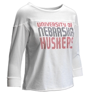 Womens University of Nebraska Retro Jersey Tee Nebraska Cornhuskers, Nebraska  Ladies Tops, Huskers  Ladies Tops, Nebraska  Ladies T-Shirts, Huskers  Ladies T-Shirts, Nebraska  Long Sleeve, Huskers  Long Sleeve, Nebraska  Ladies, Huskers  Ladies, Nebraska Womens University of Nebraska Retro Jersey Tee, Huskers Womens University of Nebraska Retro Jersey Tee