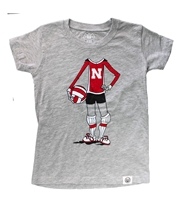 Young Gals Husker Volleyball Player Tee Nebraska Cornhuskers, Nebraska  Childrens, Huskers  Childrens, Nebraska  Kids, Huskers  Kids, Nebraska Volleyball, Huskers Volleyball, Nebraska Young Gals Husker Volleyball Player Tee, Huskers Young Gals Husker Volleyball Player Tee