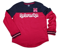 Youth Girls Nebraska Choctaw LS Tee Nebraska Cornhuskers, Nebraska  Youth, Huskers  Youth, Nebraska  Kids, Huskers  Kids, Nebraska Youth Girls Nebraska Choctaw LS Tee, Huskers Youth Girls Nebraska Choctaw LS Tee