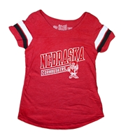 Youth Herbie Sleeve Stripe Tee Nebraska Cornhuskers, Nebraska  Youth, Huskers  Youth, Nebraska  Kids, Huskers  Kids, Nebraska Youth Herbie Sleeve Stripe Tee, Huskers Youth Herbie Sleeve Stripe Tee