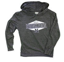 Youth Nebraska Huskers LS Hooded Tee Nebraska Cornhuskers, Nebraska  Kids, Huskers  Kids, Nebraska  Youth, Huskers  Youth, Nebraska Youth Nebraska Huskers LS Hooded Tee, Huskers Youth Nebraska Huskers LS Hooded Tee