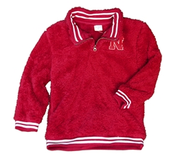 Youth Nebraska Sherpa Quarter Zip Jacket Nebraska Cornhuskers, Nebraska  Kids, Huskers  Kids, Nebraska  Youth, Huskers  Youth, Nebraska Youth Nebraska Sherpa Quarter Zip Jacket, Huskers Youth Nebraska Sherpa Quarter Zip Jacket
