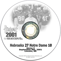 2001 Nebraska Vs Notre Dame Husker football, Nebraska cornhuskers merchandise, husker merchandise, nebraska merchandise, nebraska cornhuskers dvd, husker dvd, nebraska football dvd, nebraska cornhuskers videos, husker videos, nebraska football videos, husker game dvd, husker bowl game dvd, husker dvd subscription, nebraska cornhusker dvd subscription, husker football season on dvd, nebraska cornhuskers dvd box sets, husker dvd box sets, Nebraska Cornhuskers, 2001 Notre Dame