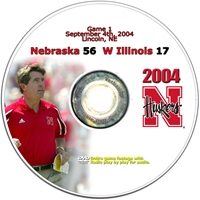 2004 Dvd Western Illinois Husker football, Nebraska cornhuskers merchandise, husker merchandise, nebraska merchandise, nebraska cornhuskers dvd, husker dvd, nebraska football dvd, nebraska cornhuskers videos, husker videos, nebraska football videos, husker game dvd, husker bowl game dvd, husker dvd subscription, nebraska cornhusker dvd subscription, husker football season on dvd, nebraska cornhuskers dvd box sets, husker dvd box sets, Nebraska Cornhuskers, 2004 Western Illinois