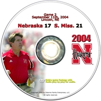 2004 Dvd Southern Mississippi Husker football, Nebraska cornhuskers merchandise, husker merchandise, nebraska merchandise, nebraska cornhuskers dvd, husker dvd, nebraska football dvd, nebraska cornhuskers videos, husker videos, nebraska football videos, husker game dvd, husker bowl game dvd, husker dvd subscription, nebraska cornhusker dvd subscription, husker football season on dvd, nebraska cornhuskers dvd box sets, husker dvd box sets, Nebraska Cornhuskers, 2004 Southern Mississippi
